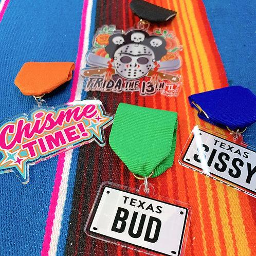 Garzig Designs Fiesta Medal