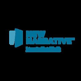 New Narrative_logo_descriptor_blue_2C_tr