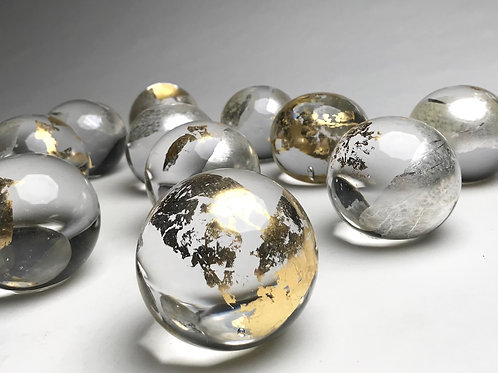 Silver & Gold Paperweight