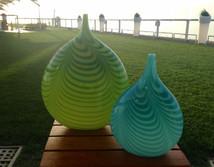 Featherd Vases