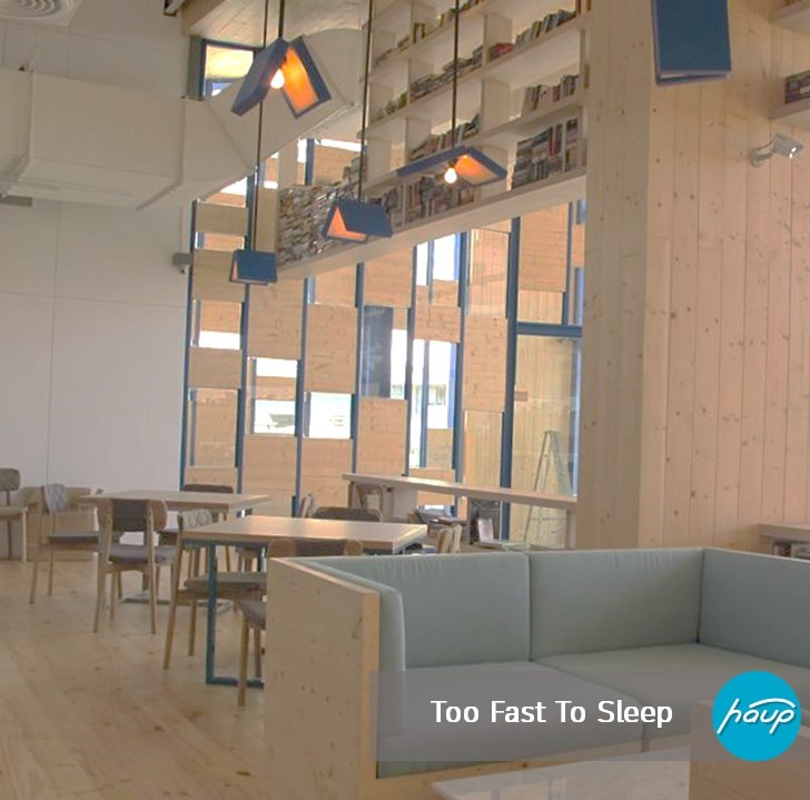Too Fast To Sleep ที่ตั้ง : จุฬาฯ เวลาเปิด-ปิด : ตลอด 24 ชั่วโมง Facebook : Too Fast To Sleep
