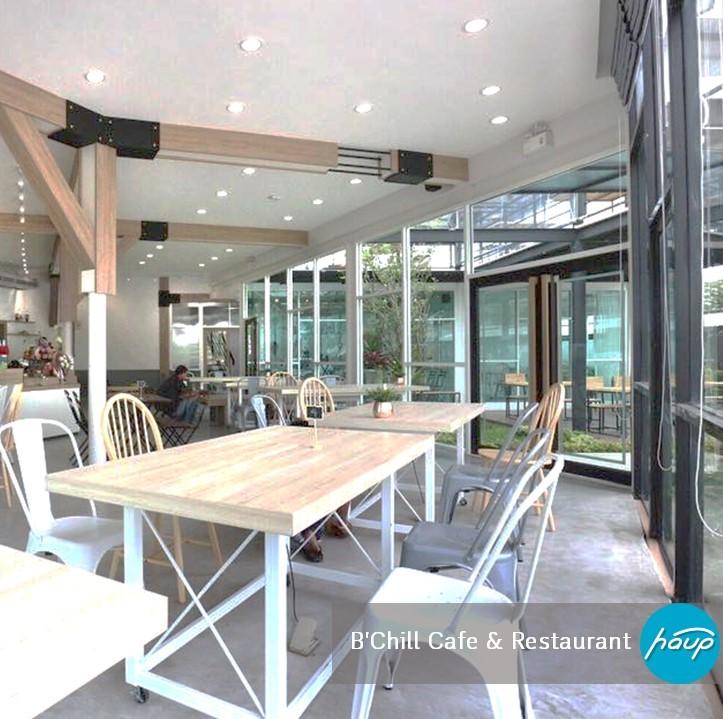 B'Chill Cafe & Restaurant ที่ตั้ง : ABAC บางนา เวลาเปิด-ปิด : 10:00 - 22:00 น. Facebook : B'Chill Cafe & Restaurant
