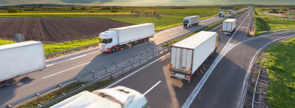 Trucks using Next Generation trackMe