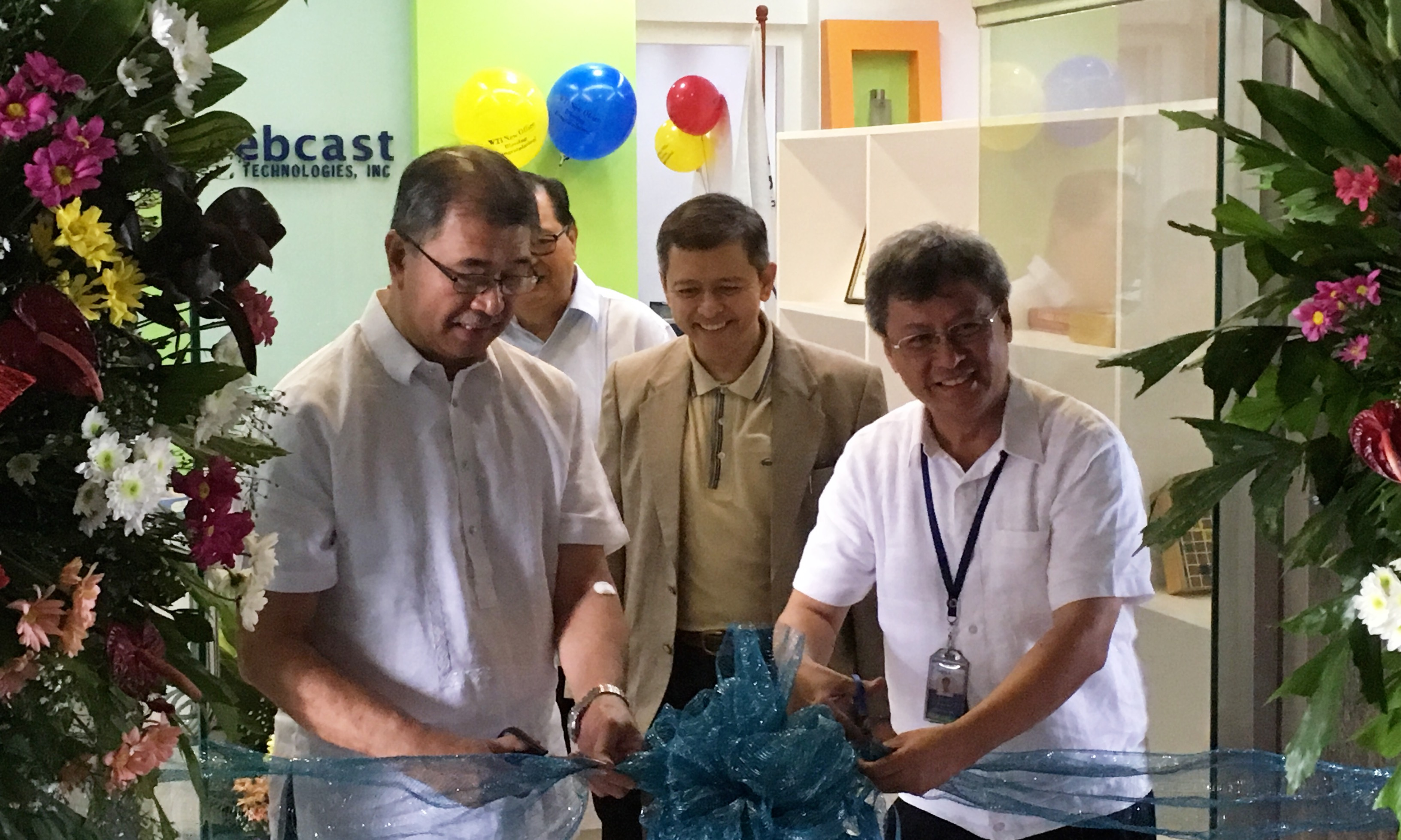 Ribbon Cutting w/ DOST Sec dela Peña