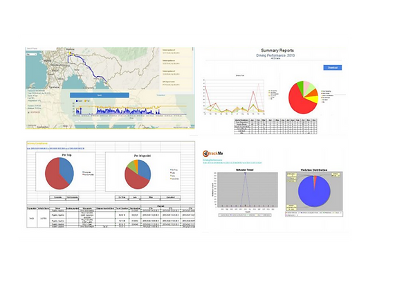 Screenshot of Next Generation trackMe System