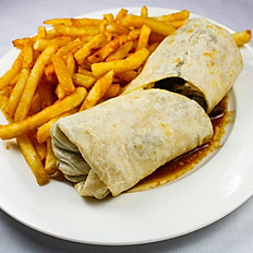Philly Chicken Wrap