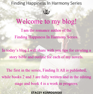 How To Write A Novel Series - Story Bible Creation and Outlining