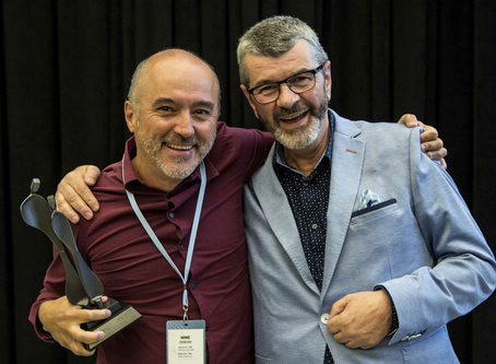Anges Québec awards the honorary title of Angel of the Year 2018 to Mike Cegelski
