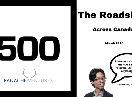 The Roadshow. 500 Startups x Panache Ventures
