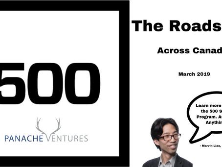 The Roadshow. 500 Startups x Panache Ventures