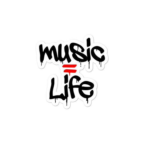 Music = Life stickers
