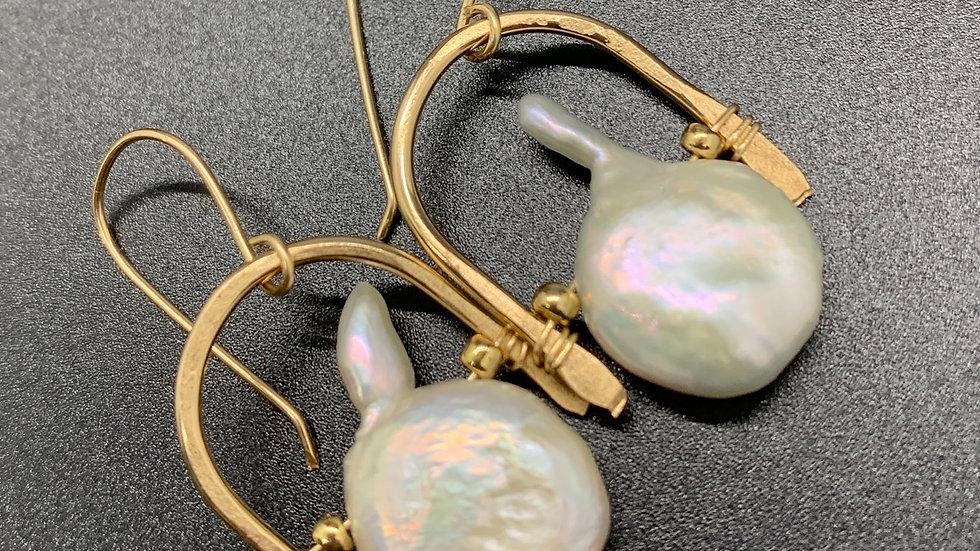 Baroque Pearl Wishbones #2