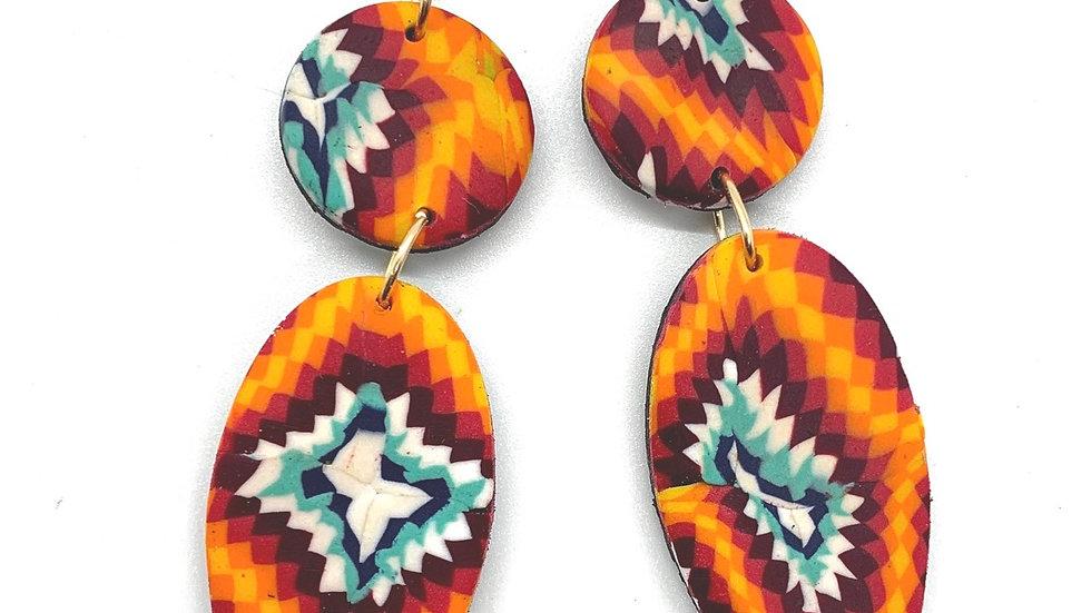 High Desert Petal Earrings