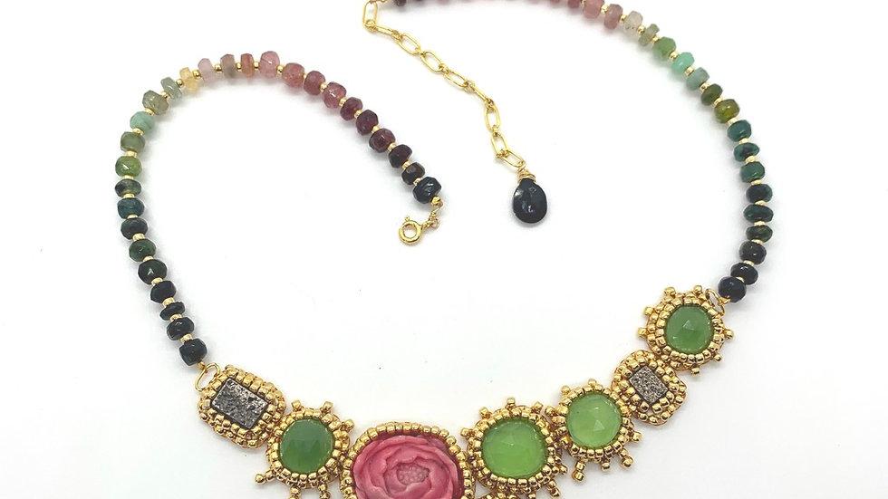 Desert Rose Heirloom Necklace