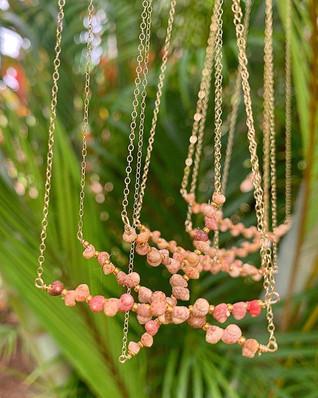 Kahelelani Shell Bar Necklace