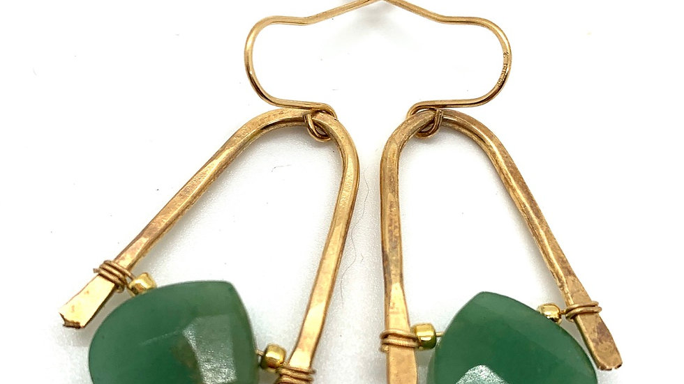 Green Calcite Wishbones Midi