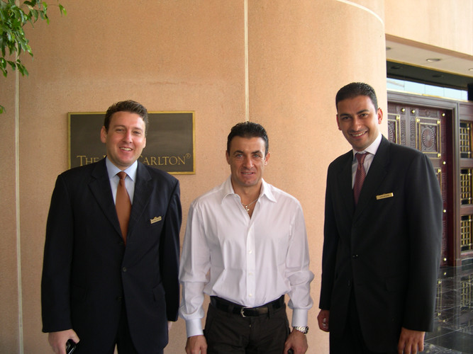 Stefnao Cucuzza, Jean Alesi, Hani Wassim