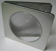 Metall-Case mit Fenster