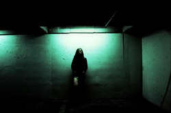 gloomy underground parkade
