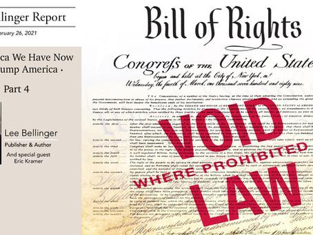 The Bellinger Report, Part 4
