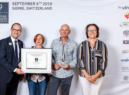 Mondial des Pinots 2019: Unser Pinot Noir Barrique auf dem 3. Platz!