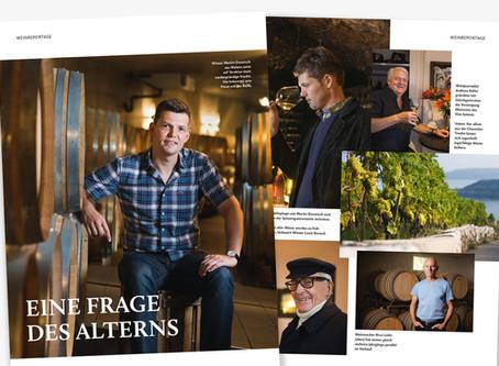 Weinreportage im Marmite – Eine Frage des Alterns
