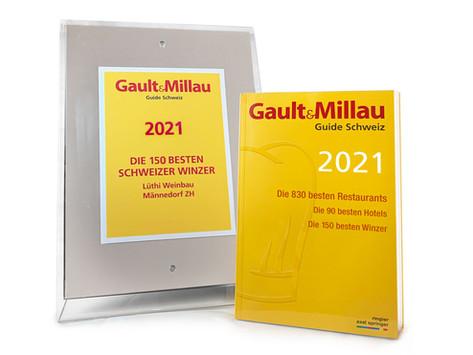 Zum zweiten Mal im Gault&Millau dabei!