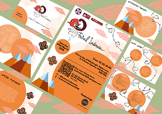 Indonesian Festival Template design 2018