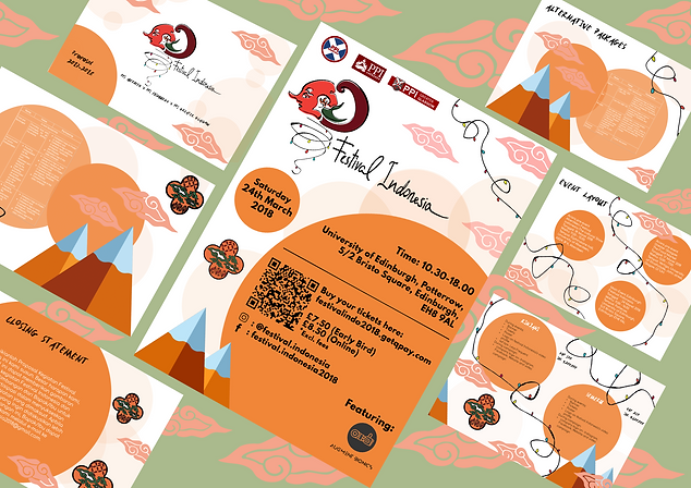 Indonesian Festival Template design 2018