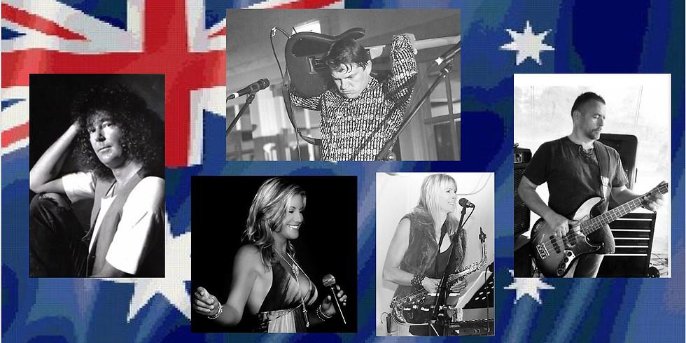 Australia day Rocked out sesh +Karaoke