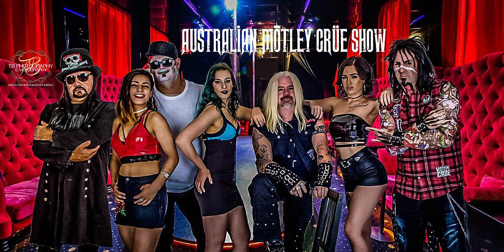 The Australian Motley Crue show