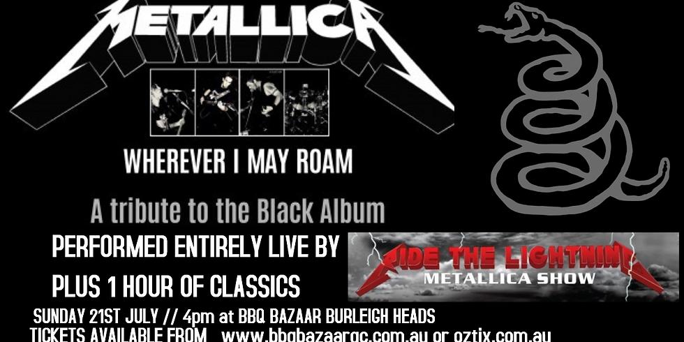 Metallica BLACK album by Ride the lightning