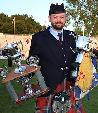 Ryan Canning World Pipe Band Champions 2015 Shotts and Dykehead Caledonia Pipe Band