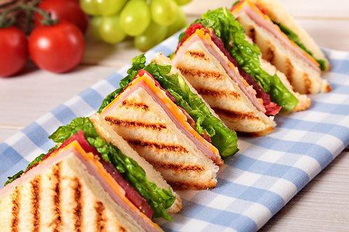 Opción 3: Sándwich de Jamón Libre de Grasa