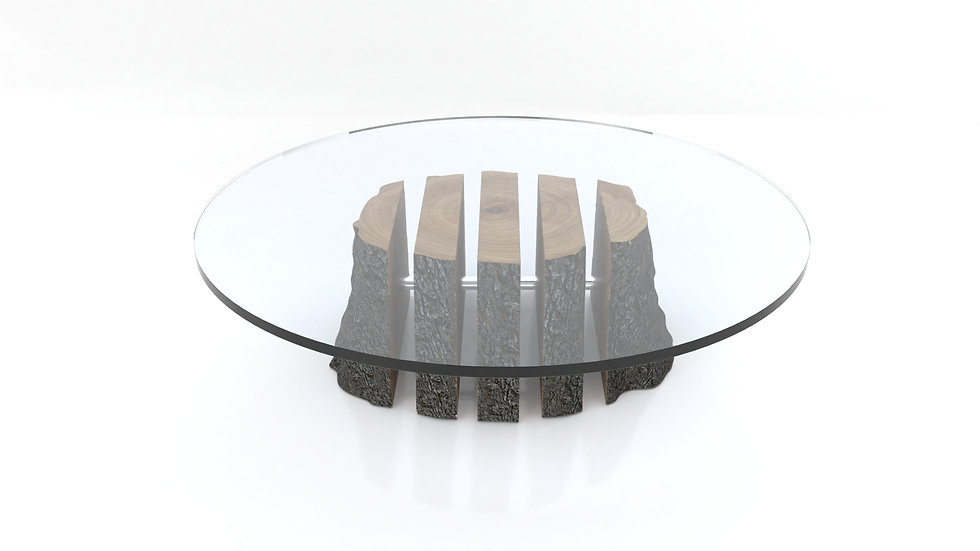 coffee table, live edge coffee table, wood slab coffee table, glass coffee table, modern coffee table,live edge, Meraki Woods