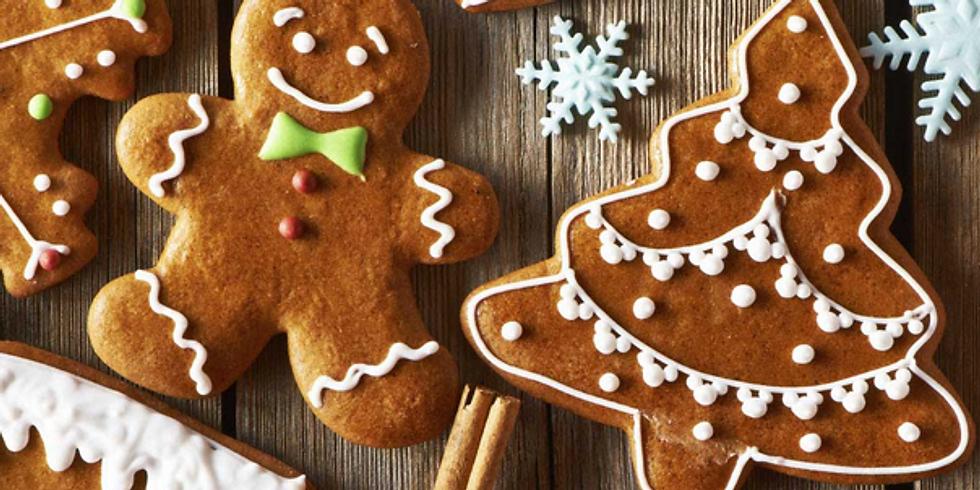 ATELIER ADULTE   - Les biscuits de Noël  - 40 euro