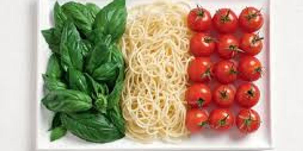 ATELIER ADULTE - La cuisine Italienne - 45 euro - COMPLET