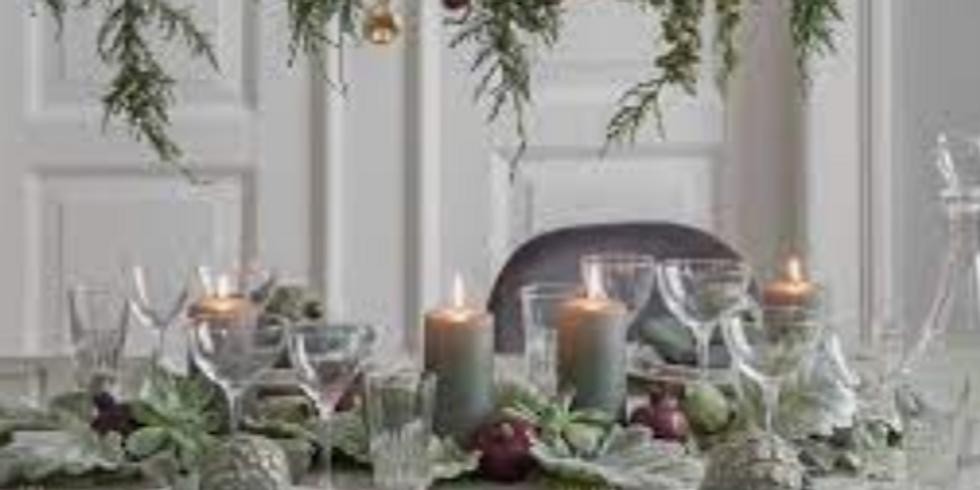 ATELIER ADULTE   - Le repas de Noël - 60 euro - COMPLET