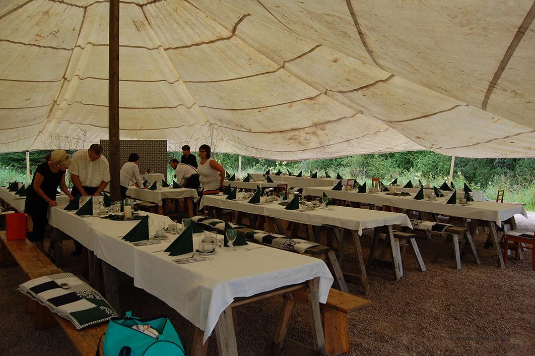 Stora tältet