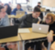 ES Interntational School high school laptop