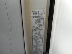 impact exterior label