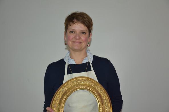 Anne Rebière Decubber doreuse ornemaniste
