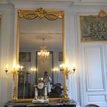 Presbytère de St Paul St Louis, Paris : dorure des miroirs