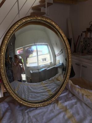 Miroir sorcière après restauration