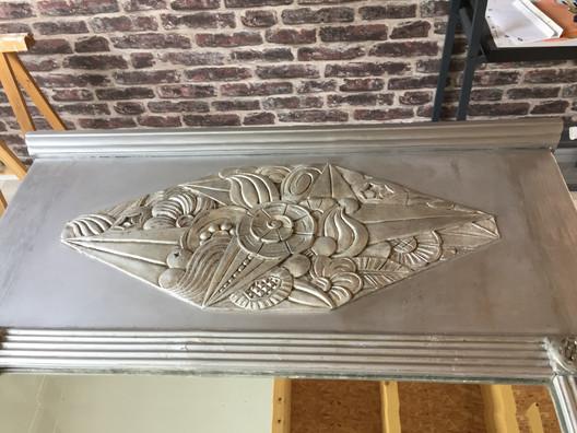 Trumeau Art Déco après retauration
