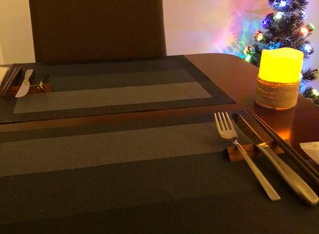 カフェショコラのクリスマスディナー。