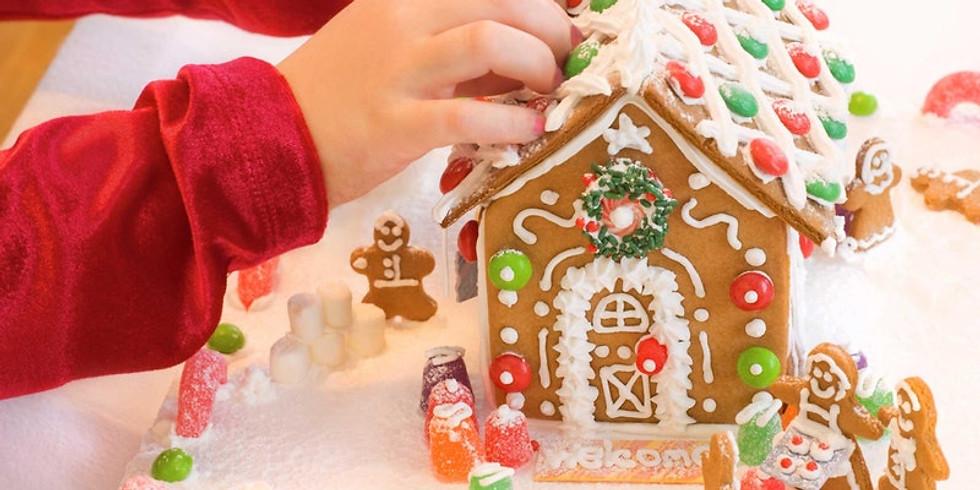 Kids Gingerbread House Class
