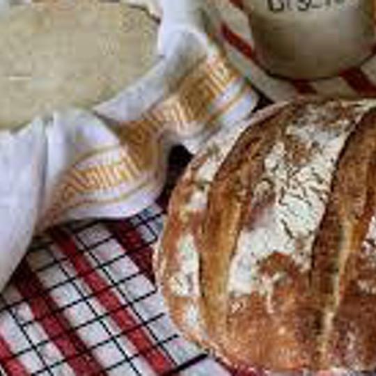 Making Sourdough Starter and Bread