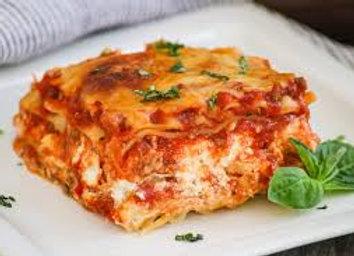Keto Lasagna with Italian Sausage