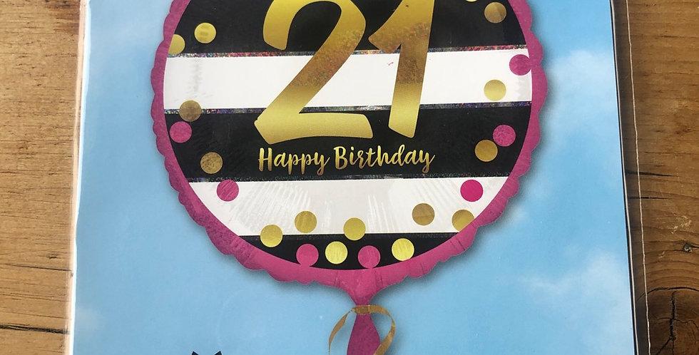 21 Happy Birthday